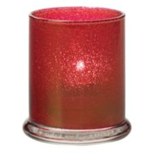 Hollowick® 6147RJ Ruby Jewel Votive Column Glass Lamp
