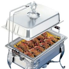 S/S Long End Chafer Cover Holder