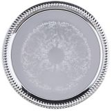 "Carlisle® 608907 Celebration™ 14"" Round Gadroon Tray"