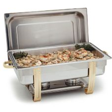Carlisle® 609550 Magellan 8 Qt. Rectangular Stainless Steel Chafer
