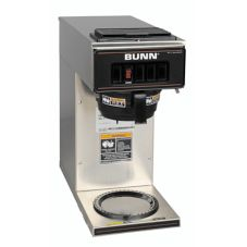 BUNN® S/S Low Profile Pourover Coffee Brewer with 1 Warmer