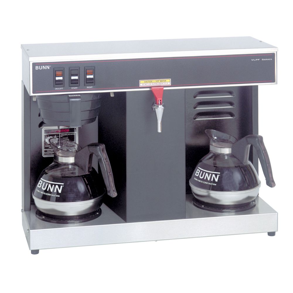 Bunn VLPF Professional Automatic Coffee Brewer with 2 Warmer