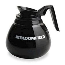 Bloomfield REG8903BL3 Glass Coffee Decanter with Black Handle - 3 / CS