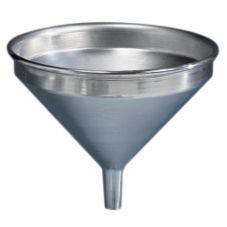 American Metalcraft 913 Spun Aluminum 2 Quart Funnel