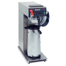 BUNN® S/S Automatic Airpot Coffee Brewer with S/S Funnel