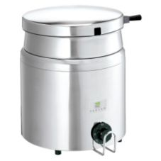 Server Products 84000 S/S 7 Qt. Heated Food With Hinged Lid