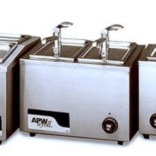 APW Wyott 7 Qt. Countertop Food and Fractional Food Warmer, W-9