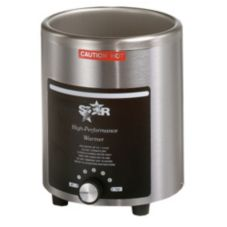 Star® 4RW Stainless Steel Round 4 Qt. Warmer with Cover