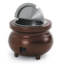Vollrath 72171 Cayenne® Copper 7 Qt. Colonial Kettle™ Warmer