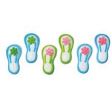Lucks™ Dec-Ons® Flip Flops