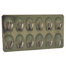 Matfer Bourgeat 310752 Tin Plate Madeleine Sheet
