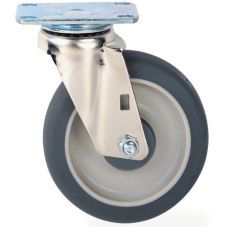 "Metro® C8P Super Erecta® 8"" Dolly Swivel Plate Caster"