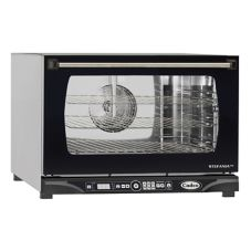 Cadco XAFT-115 LineChef 1/2-Size Digital Convection Oven with Humidity