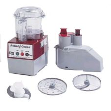 Robot Coupe R2NCLR Food Processor w/ 2.5 Qt Bowl Attachment