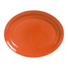 Syracuse 903034615 Cantina Cayenne 9-5/8 In. Carved Platter - 12 / CS