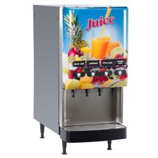BUNN® 4-Flavor Gourmet Cold Beverage System with Lighted Door