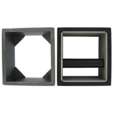 Knock Box Set w/ S/S Knock Box Holder, 6 x 5½ x 4""