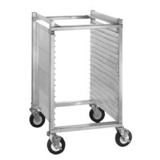 CresCor 282-1815 Undercounter Height Closed Sides Mobile Utility Rack