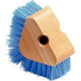 Carlisle® 36196614 Blue Triangular Corner Scrub Brush