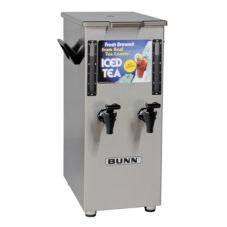 BUNN® TD4T Iced Tea Dispenser with Dual Reservoir