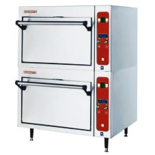 Blodgett 1415 DOUBLE Countertop Electric Deck Oven w/ 2 Base Sections
