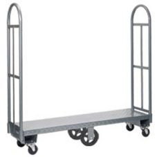 Win-Holt 300-60D Single Platform U-Boat Utility Cart with Diamond Deck
