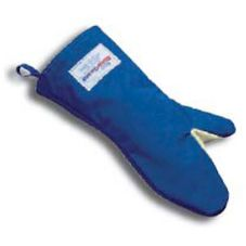 "Tucker Safety 6150 Blue 15"" BurnGuard Oven Mitt With Aramid Polymer"