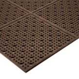 NoTrax® 411-564 Multi-Mat II® 3' x 2' Brown Reversible Mat