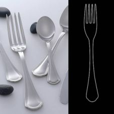 "Steelite 5307S071 Leopardi S/S 9"" Serving Fork - Dozen"