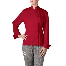 Chefwear® Women's Large Red Sterling Jacket