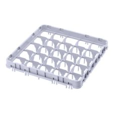 Cambro Camrack Soft Gray 16-Compartment Full-Size Full Drop Extender