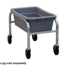 New Age Industrial 6265 Mobile Open-Design 1 Lug Capacity Rack