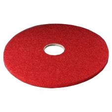 "3M™ 5100N-19 Niagara™ Red 19"" Buffer Pads - 5 / CS"
