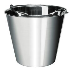 Update International UP-13 13 Qt. Stainless Steel Utility Pail
