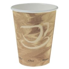 Solo® Mystique® Paper 12 Oz Hot Beverage Cup