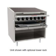 "Magikitch'N FM-636-RMB STAINLESS Natural Gas 36"" Radiant Charbroiler"