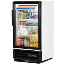 True® GDM-8 Swing Glass Door Countertop Refrigerator w/ 3 Shelves