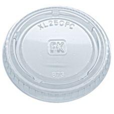 Fabri-Kal 9505083 Clear Plastic 2 Oz. Souffle Lid - 2500 / CS