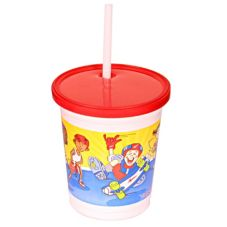 "Fabri-Kal Kids ""OUTDOOR SPORTS"" 12 Oz. Cup w/ Lid"