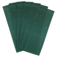"Unique Mfg NB-UNI Green 1-1/2 x 4-1/4"" Napkin Band - 2000 / BX"