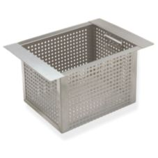 "Supreme Metal Fabricators A-16 Sink Basket For 10"" x 14"" x 10"" Sink"