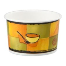 Huhtamaki Streetside® 8 Oz. Food Container With Vented Lid