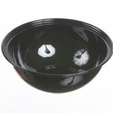 Par-Pak® 5G160A-BWL-BK Black PETE Plastic 160 Oz. Bowl - 50 / CS