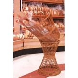 "The Wicker Place 460 16""D x 36""H Tilted Bread Basket"