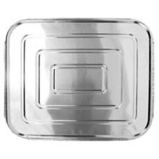 HFA® 2049-00 12-13/16 x 10-7/16 Half Size Foil Lid - 100 / CS