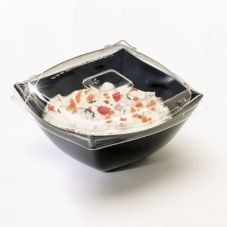 EMI Yoshi® Squares Clear Lid for 8 Oz. Serving Bowl