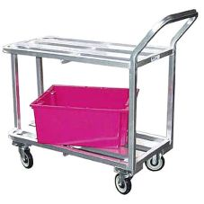 Kelmax 4H1468 Aluminum HD Channel 1200 Lb. Stocking / Utility Cart