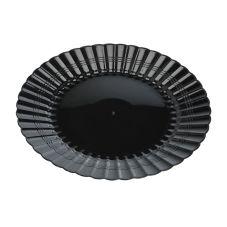 "EMI Yoshi® EMI-REP6-BLK Resposables Plastic 6"" Plate - 180 / CS"