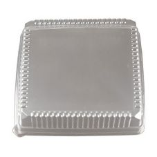 "EMI Yoshi® EMI-1616LP Clear Lid For 16"" Square Tray - 40 / CS"