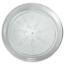 "EMI Yoshi® Caterer's Collection Clear Plastic 9"" Plate"